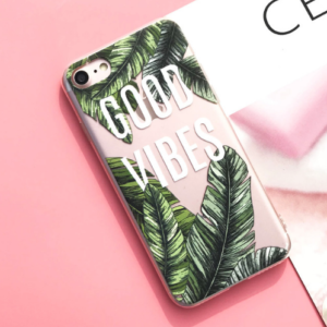 "The ""Good Vibes"" iPhone Case"