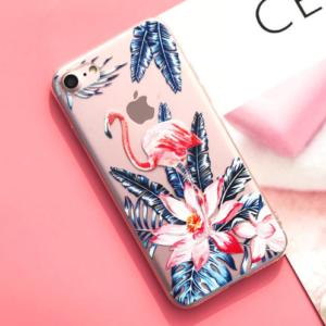 "The ""Tropical Flamingo"" iPhone Case"