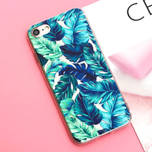 "The ""Blue Tropics"" iPhone Case"