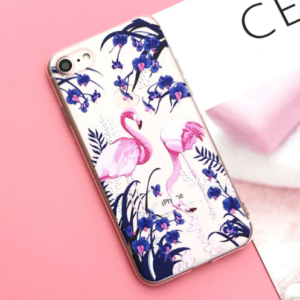 "The ""Blue Flamingo"" iPhone Case"