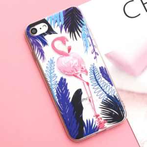 "The ""Purple Flamingo"" iPhone Case"