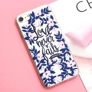 "The ""Love Never Fails"" iPhone Case"