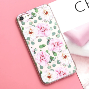"The ""Pink Flower"" iPhone Case"